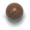 Semi-Precious 8mm Round Wood Agate